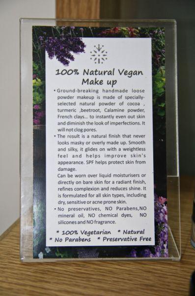 vegan details
