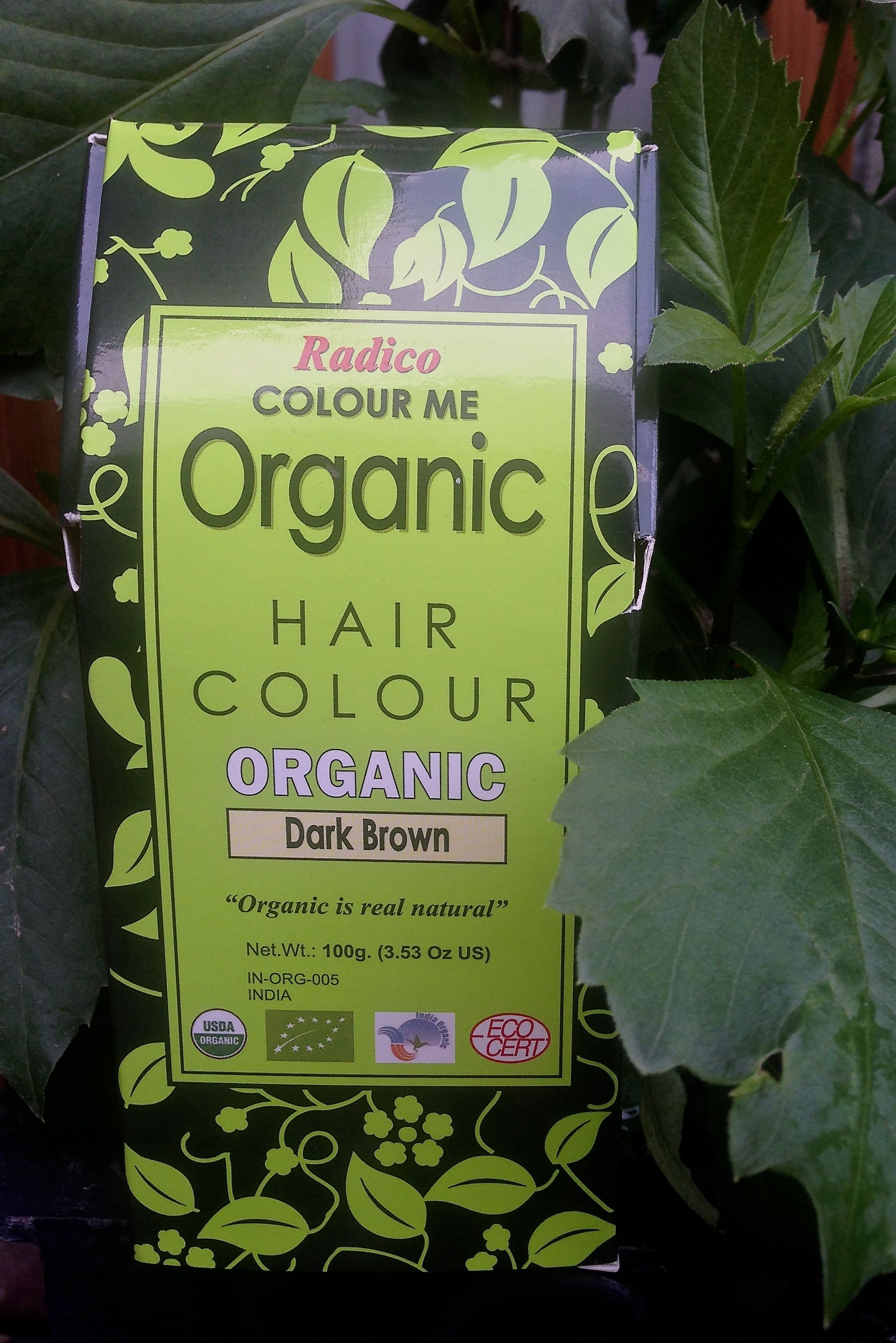 Colour Me Organic Hair Color