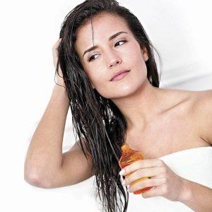 oiling-hair