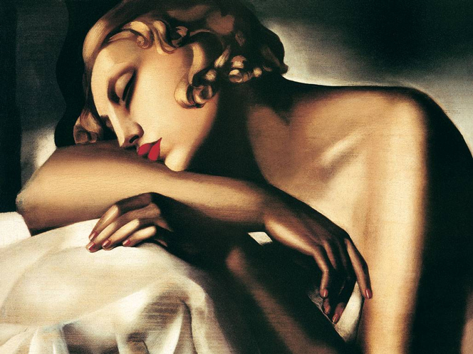 The Sleeping Girl, 1930 by Tamara De Lempicka